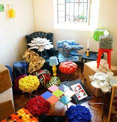 Colorful, Tactile Furniture by Humberto da Mata Photo #repurpose