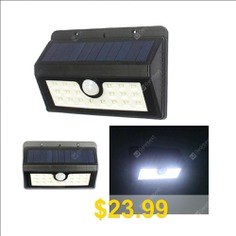 20LED #Solar #Human #Induction #Wall #Lamp #Solar #Courtyard #Lamp #U-Patch #Street #Lamp