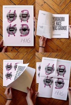 Yorokobu Magazine / Issue 16 Cover / 2011 on the Behance Network #print #poster