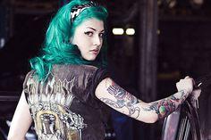 Dirk Behlau #tatoo #girl