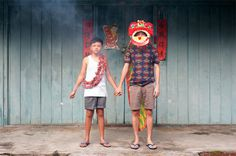 Self-Portraits on Behance #town #photography #china #kids #childs