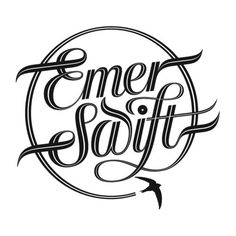 Typeverything.com 'Emer Swift' BMX logo by... - Typeverything #logo