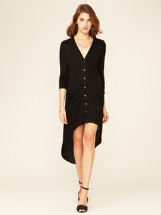 Tart Kaley High Low Dress #fashion #dress #black #shirt