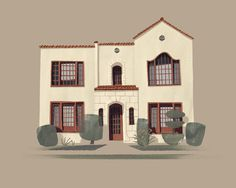 My apartment on Avocado St. #illustration #chris #house #turnham