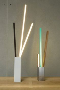 NY Design Week 2012 - ICFF: Stickbulb - Core77 #lamp