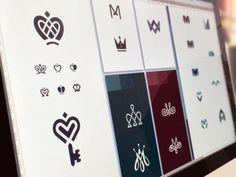 Brand-book design process by Ramotion.com #logodesign #logo #logomark #negativespace #branding #brand #identity #ramotion