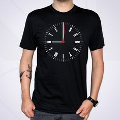 Effektive Studio. +44 (0)141 221 5070 #effektive #shirt #clock #superfancy #typography