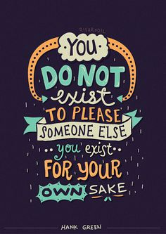 Hank Green Quotes – Lettering Series