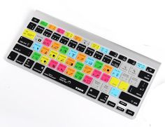 Photoshop keyboard cover for apple keyboards