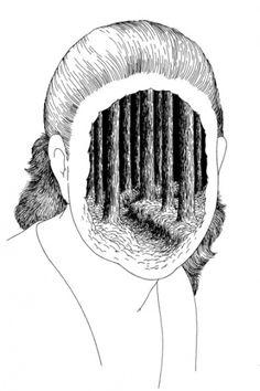 hebergeur-d-image.jpeg (Image JPEG, 394x591 pixels) #illustration #blackwhite