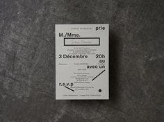 Larissa Kasper #flyer #minimalistic