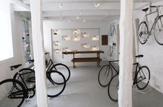 Cykelmageren hipshops in Copenhagen. #retail #bicycle #shop #design #space #store #concept #hipshops