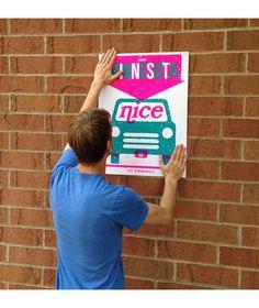 Lyft in Minnesota - Samuel W anderson   #posterdesign #design #poster #typography   #graphicdesign #streetart #graff #flyer #graffiti #flyer