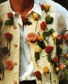 "blankforblack: "" Dries Van Noten Menswear, S/S 1993 """