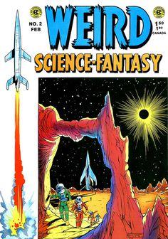 photo #illustration #cover #comic #weird fantasy