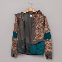 Nike x Undercover GYAKUSOU AS UC Fabric Mix Jacket in Black Tea #undercover #windbreaker #nike #wear #sports #gyakusou