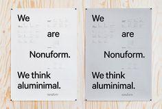 Nonuform by BVD #poster #branding