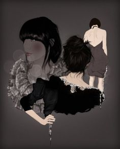 INI #sexy #mode #hair #digital #illustration #photoshop #fragil #fashion #drawing
