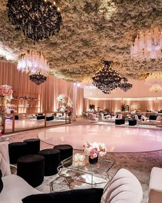celling flower decoration ideas for wedding