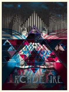 Arcade Fire Special Edition Package Zoom #transparency #packaging #hands #music #type #collage