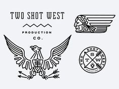 FFFFOUND! | Dribbble - TwoShotWest by Keith Davis Young #illustration