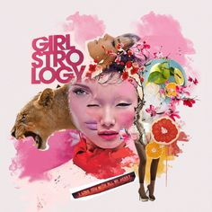 girlstrology - lion - mustafasoydan #mustafa #soydan #illustration #fashion #media #collage #mixed