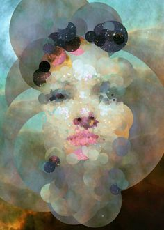Computer Generated Portraits Created From Images Of The Universe   The Creators Project #photography #compositehubbletelescope