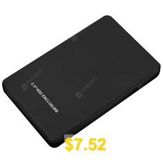 W25Q73 #USB #3.0 #to #2.5 #inch #SATA #Hard #Drive #Enclosure #2TB #- #BLACK