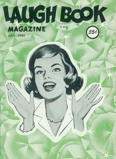 laugh-book-july-1959 | Flickr - Photo Sharing! #illustration #magazine
