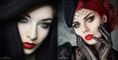 Beauty and Fine Art Portrait Photography by Silver Pearl