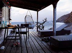 beach living #wood #beach #peace #relax #porch
