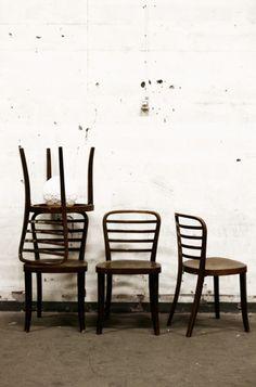 Vintage stolar Thonet original 4 st | Artilleriet | Inredning Göteborg #vintage #chairs