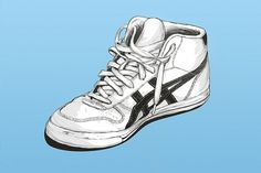 shoes on the Behance Network #illustration #shoe