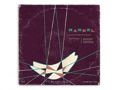 Javier Garcia Design // Work #album #garcia #retro #handel #javier