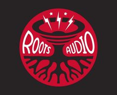 Roots Audio Logo - Logos - Creattica #logo #music #roots audio #tunaheart creative