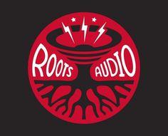 Roots Audio Logo - Logos - Creattica #logo #music #roots audio #tunaheart creative