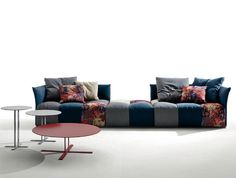 Modular Upholstered Sofa by Sergio Bicego - #design,#furniture,#modernfurniture