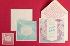 The hungry workshop / letterpress printer / www.mr cup.com #typography #letterpress #invitation #halftone