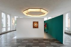Janette Laverrière im Schinkelpavillion #installation #design #laverrire #janette #kunstalle #art #light #miror