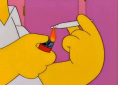 #homer #simpsons #blunt #cartoon