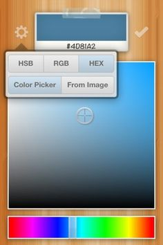 The Color Picker - User-Friendly Color Picker for iPhone 3GS, iPhone 4, iPhone 4S, iPod touch (3rd generation), iPod touch (4th generation) and iPad o #iphone #color #app