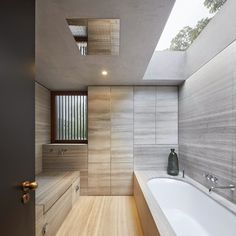 Fitzroy Park House by Stanton Williams Architects #design #interiors #bathroom