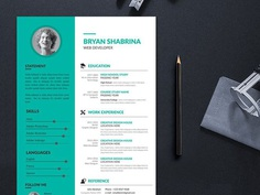 Free Personal Clean Resume Template