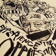 """""""Nelson Mandela Poster,"""" Chad Anderson"""