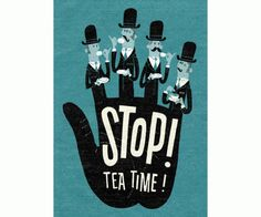 Eight Hour Day » Blog #type #illustration #time #tea