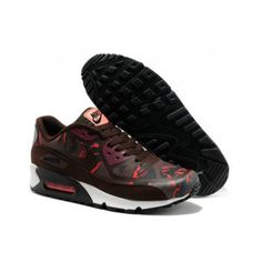 New Nike Air Max 90 2014 Prm Tape Shoes Coffee