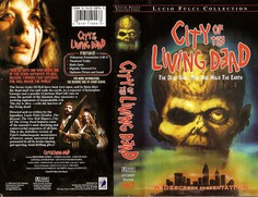 City Of The Living Dead (VHS Box Art)