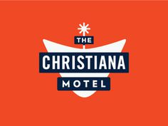 The Christiana Motel Logo #logo #branding #identity