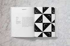 The Geometry of Pasta | Yatzer #book #typography #layout #pattern