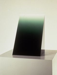 Green Widget, 1969, Cast Polyester Resin, 14 1/2 x 8 3/4 #peter #alexander #art